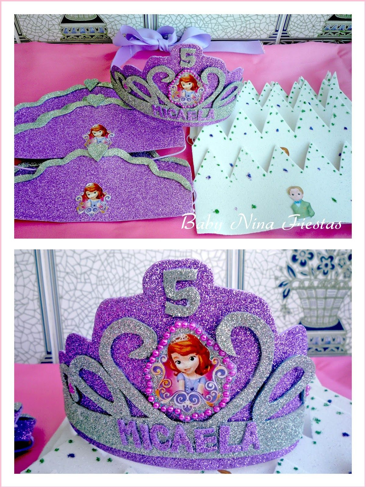 Baby Nina Fiestas: Mesa dulce temática Princesa Sofía para el 5to ...