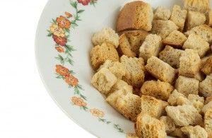 Croutons Met Knoflook Empty The Fridge Recept Lekker Eten Croutons Lekker