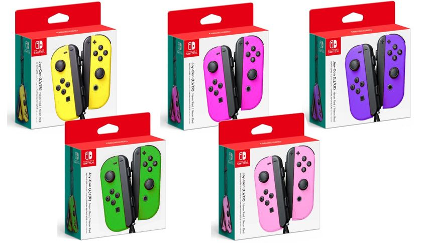 New Rumored Joy Con Colors For The Nintendo Switch Nintendo Switch Accessories Wii Switch Nintendo Switch Games