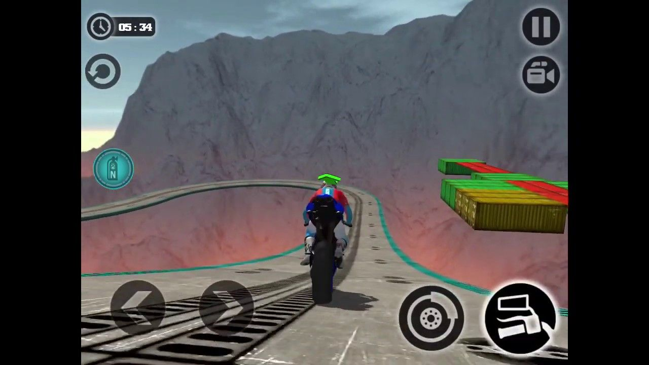Impossible Motor Bike Tracks New Motor Bike Android Gameplay