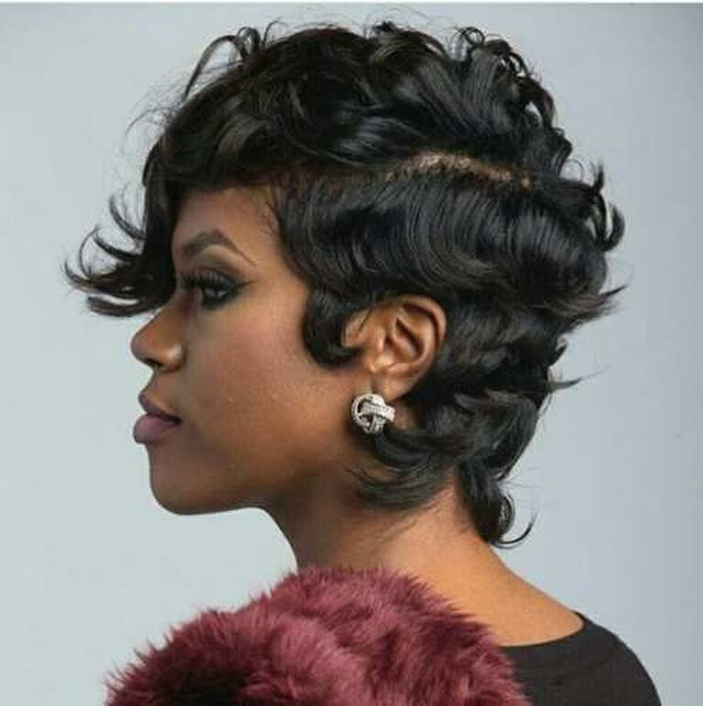 cute short hairstyles for black women hairstyles pinterest