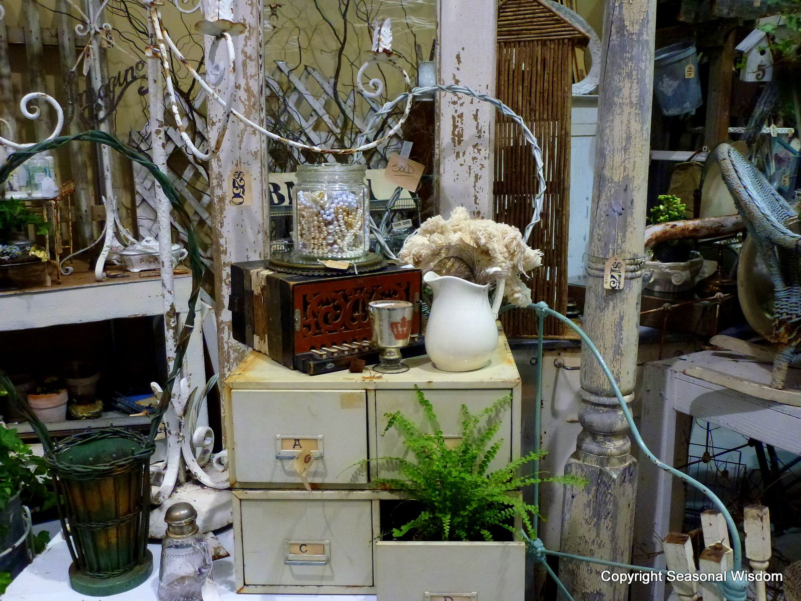 From Old Prints And Antiques To Charming Spring Bulbs, The Vintage Garden  Market At The Northwest Flower U0026 Garden Show Was Packed With Imaginative  Gifts For ...