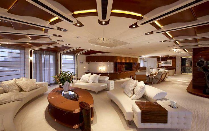 luxuriose innenausstattung yacht vive la vie, related image | yachts | pinterest, Design ideen