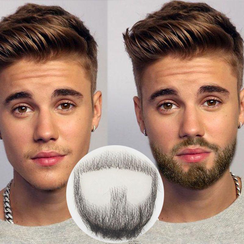 Fake Beard Man Mustache Word Simulation Of 100 Human Hair Makeup Body Care Fake Beards Beard Makeup Haircuts For Men