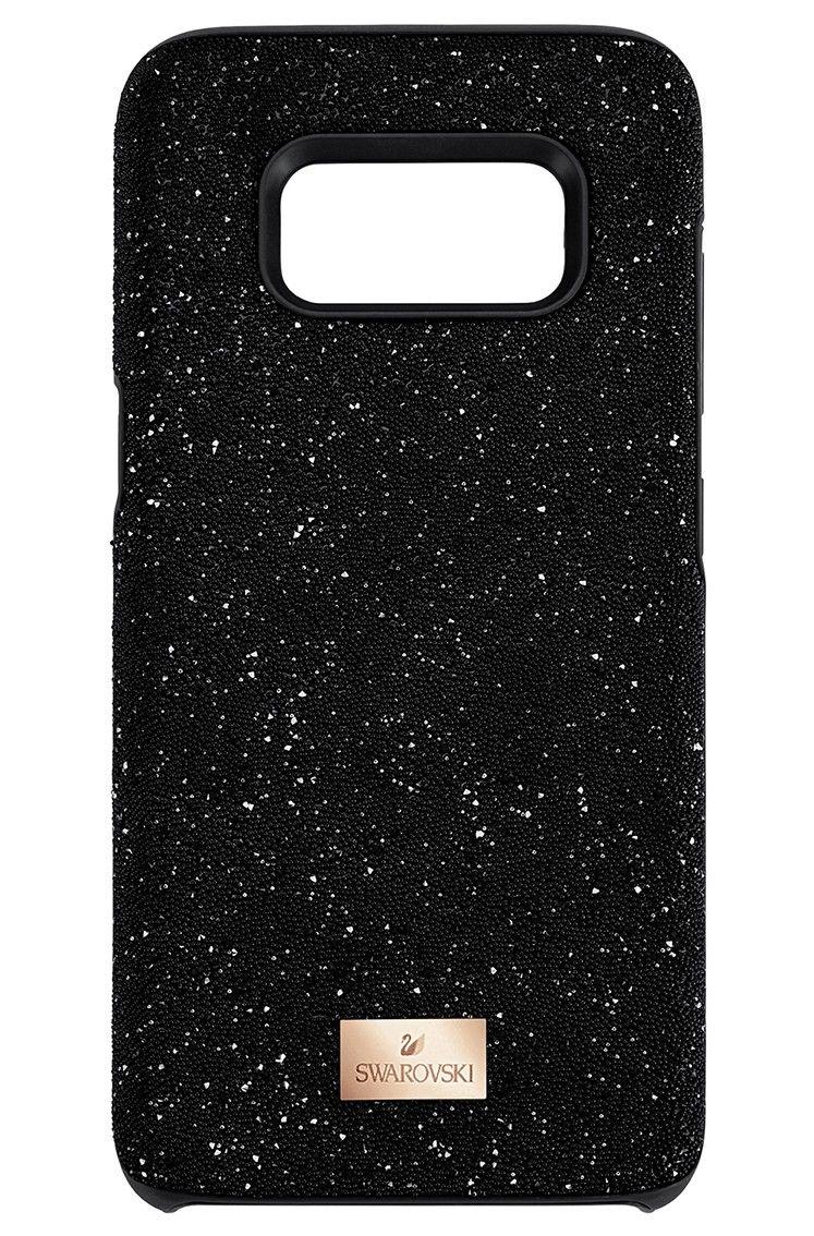 Swarovski Telefoonhoes met Bumper High Black Samsung Galaxy S9  5372966.  Uniek en trendy zwarte cedd128418
