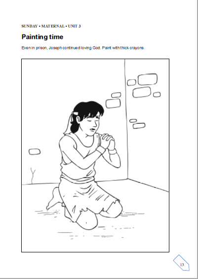 joseph and potiphar coloring pages google search