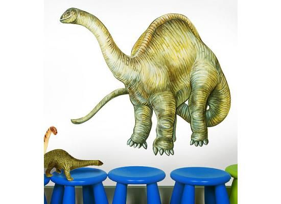 Wallies Wandsticker Wandaufkleber Dinosaurier Titanosauruseinfach