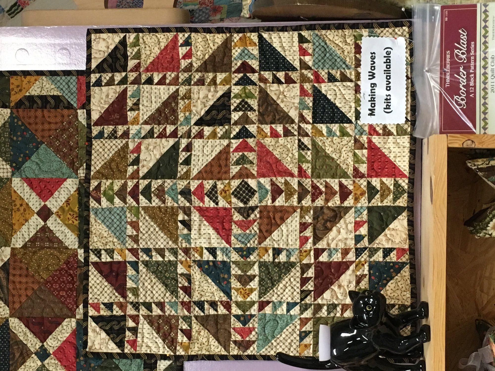 Simple Whatnots #6 miniature quilt kits | Quilts | Pinterest ... : miniature quilt kits - Adamdwight.com