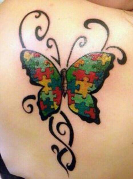 Imagem Da Internet Autism Tattoos Autism Awareness Tattoo Tattoos