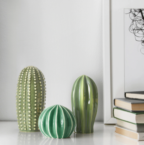 decoracion cactus ikea