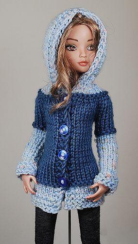 niebieski2 - #niebieski2 #crochetedbarbiedollclothes