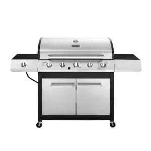 Char Broil 5 Burner Propane Gas Grill 463252114 At The