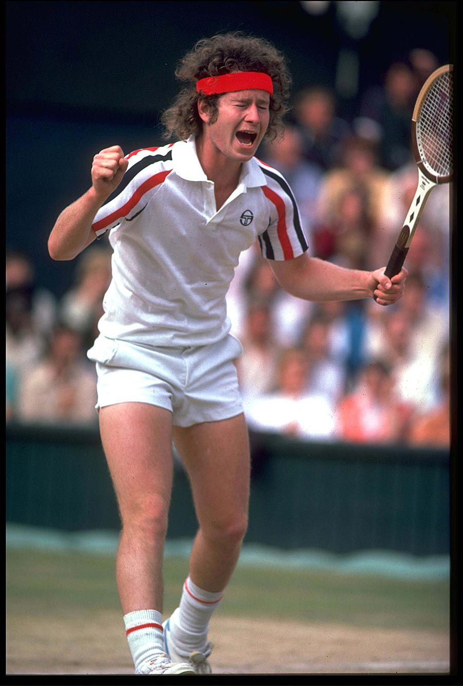 100% authentic 1e3d9 01bdf The Grandaddy of Temper Tantrums on the Tennis Court. I 3 you, John  McEnroe. )