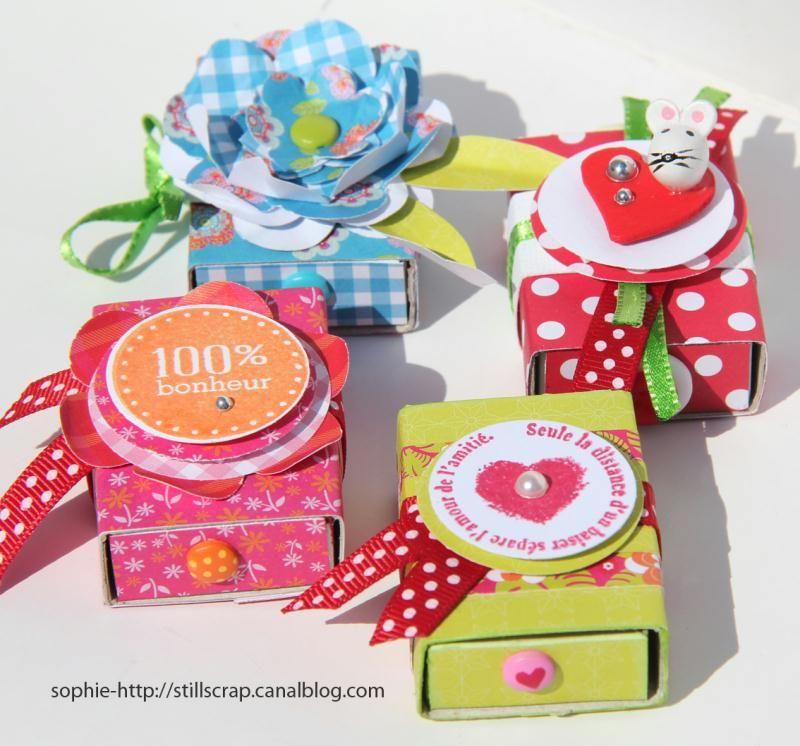 Tuto Boite Allumette Idees Conseils Et Tuto Decoration Matchbox