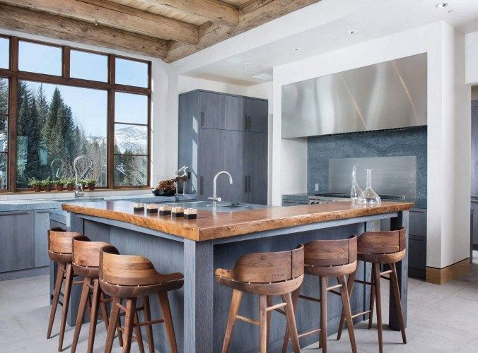 Kitchen island ideas with seating add seats kitchen - Square kitchen island with seating ...