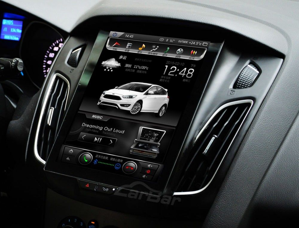 10 4 Vertical Screen Android Navi Radio For Ford Focus 2011 2019 Ford Focus Ford Focus Hatchback Ford Focus Accessories