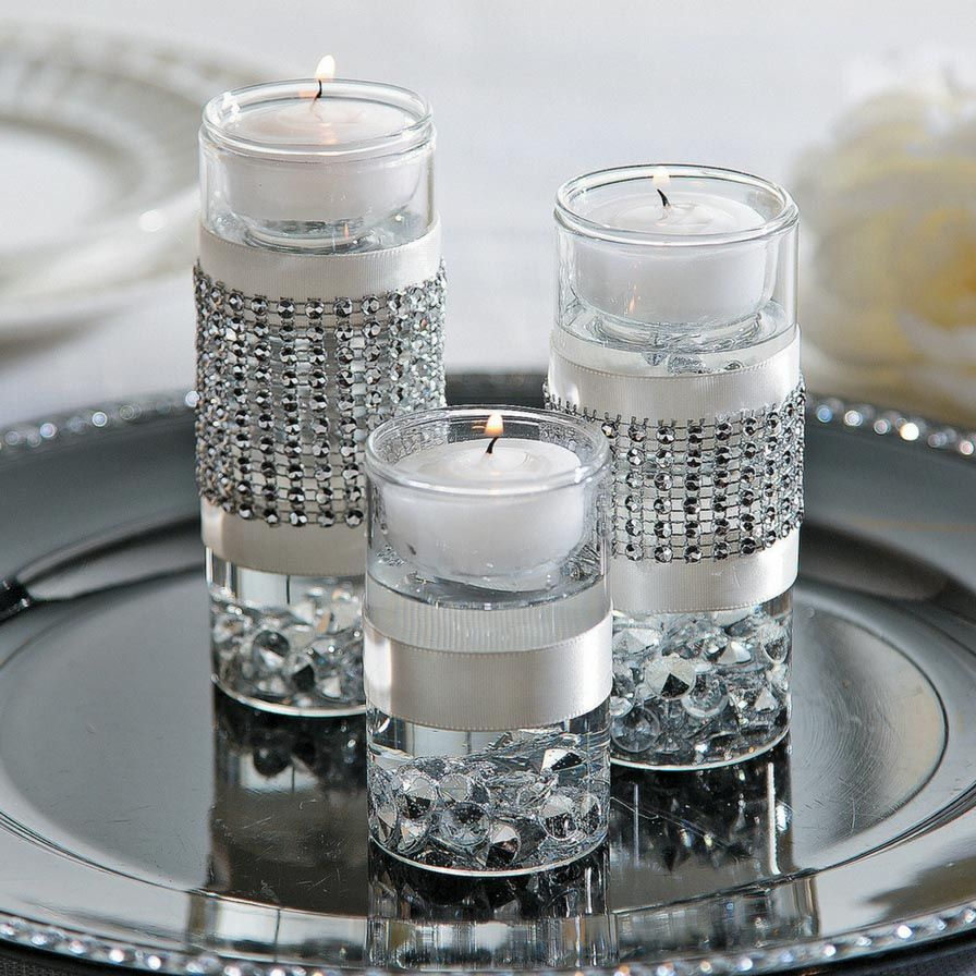 Water Wedding Centerpiece Ideas: Solid Color Water Pearl Beads In 2019