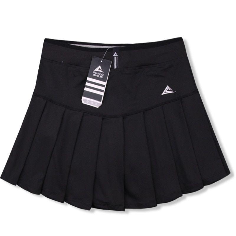 75efc80772 Women Skort Quick Dry Sport Badminton Pantskirt Wear Skirt Pleated Pants  Pocket Tennis Skirt