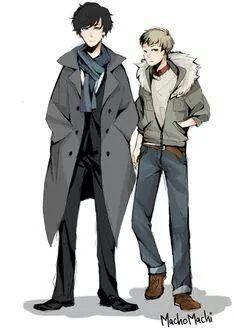 sherlock holmes anime