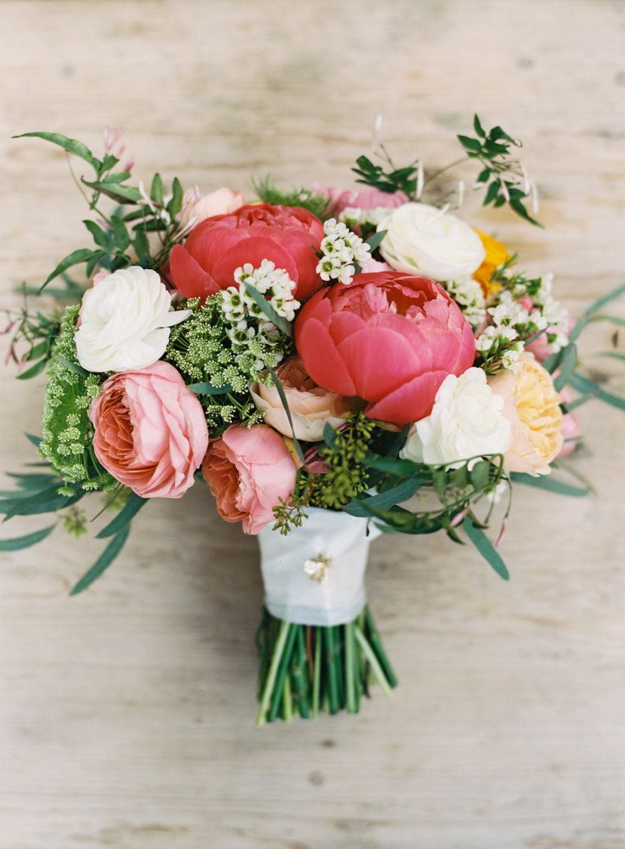 A sweet southern wedding thats totally intimate wedding bouquets a beautiful pink themed bouquet izmirmasajfo