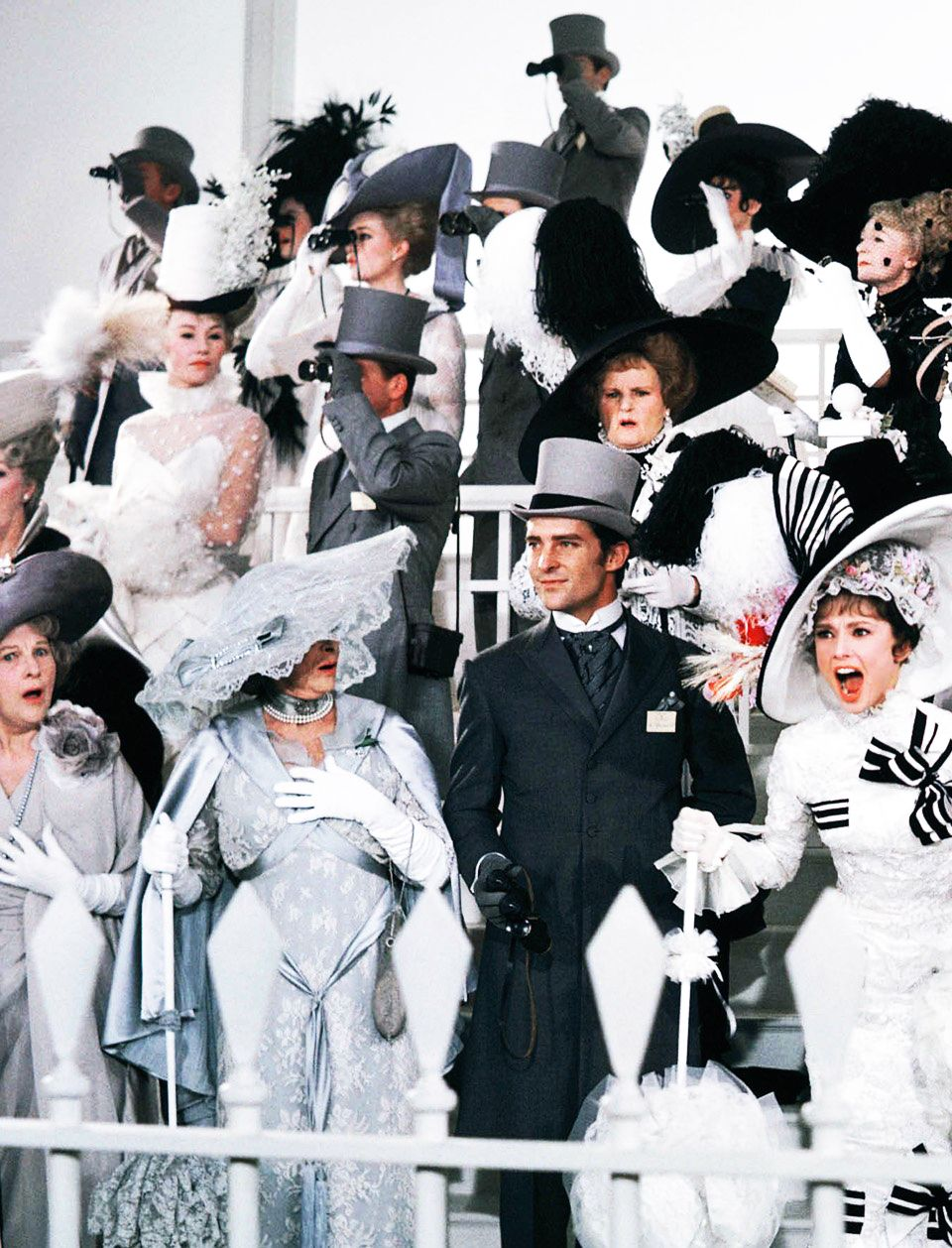"""Come on Dover! Move your bloomin arse!! On of my favorite sences in My Fair Lady, 1964"
