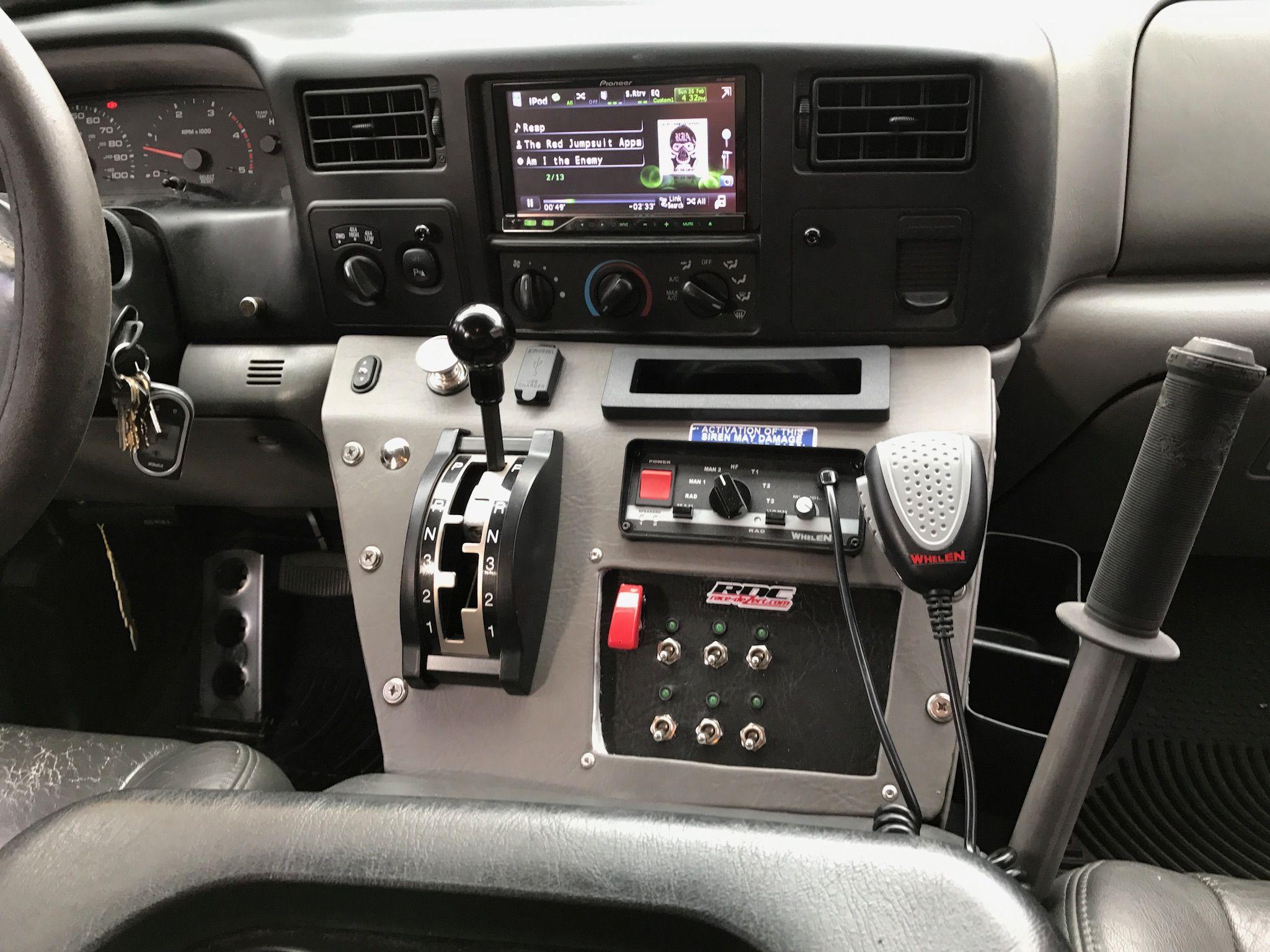 F250 super duty custom center console. Custom center
