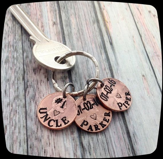 Uncle gift idea, Lucky Grandpa, Father\u0027s Day Gift, Lucky Daddy Key