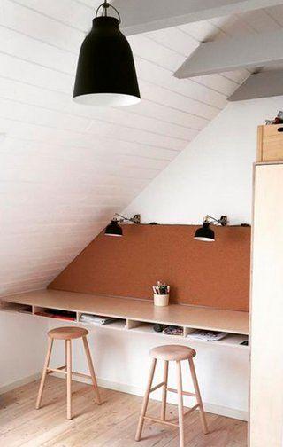 Skråvægge - inspiration til indretning med skråvægge