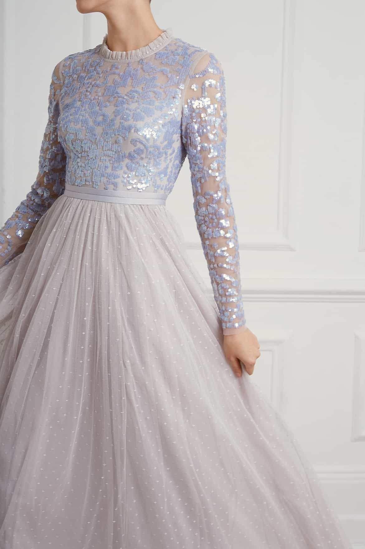Ellie Wilde Ew120014 Periwinkle A Line Prom Dress Ellie Wilde Prom Dresses Prom Dresses Jovani A Line Gown [ 1400 x 1000 Pixel ]