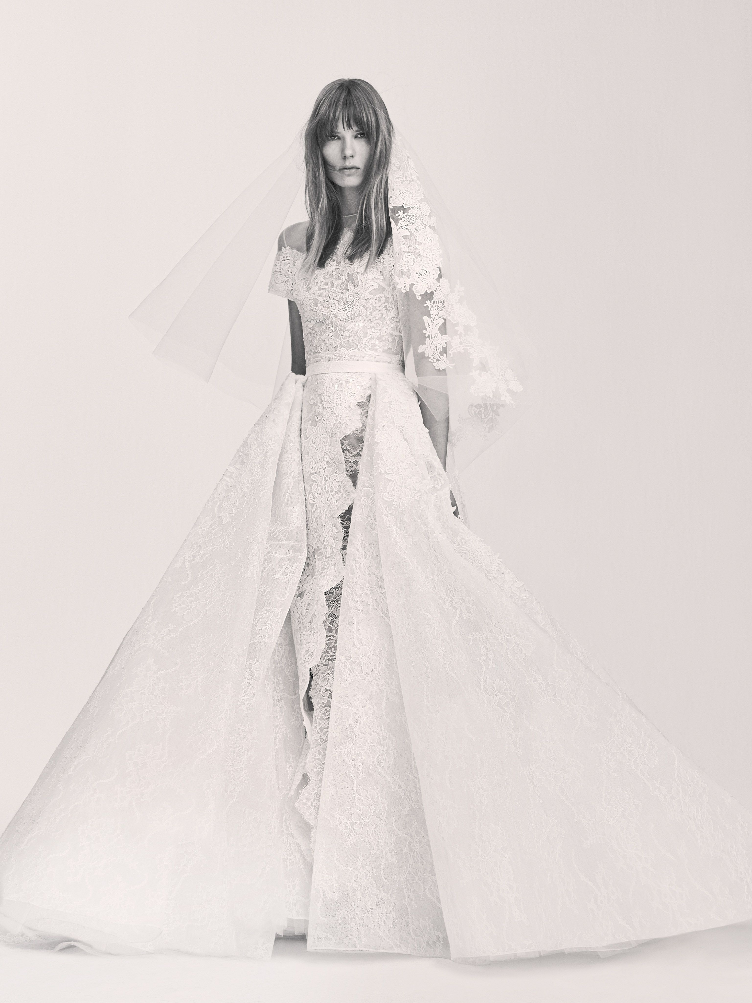 ELIE SAAB UNVEILS BRIDAL LINE | Elie saab bridal, Spring and Wedding ...