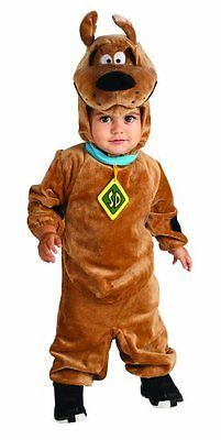 Kids Costumes: Scooby Doo Romper Costume, Brown, 12-18 Months BUY IT NOW ONLY: $34.13