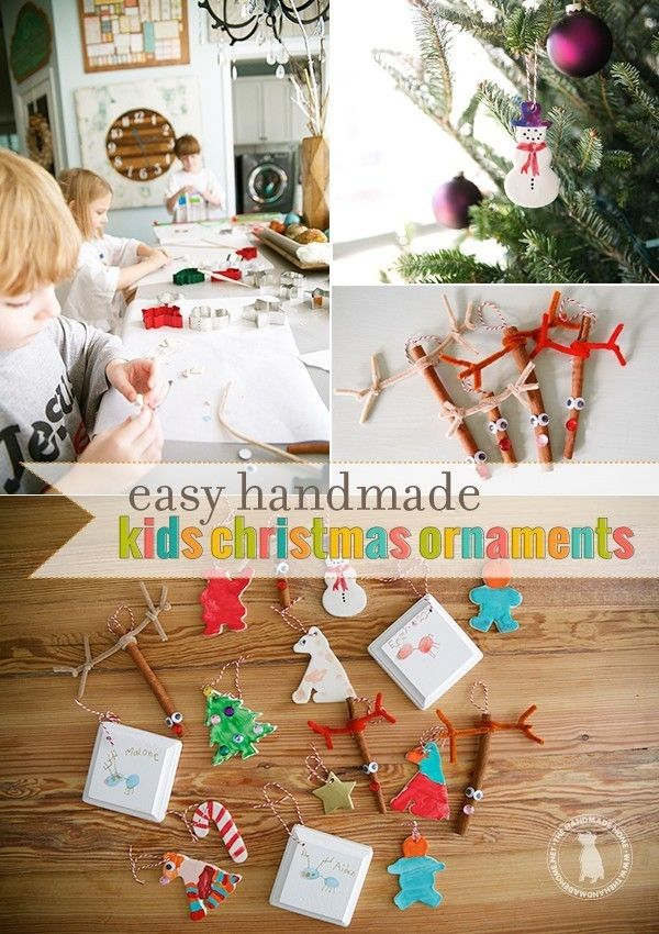 easy_handmade_kids_christmas_ornaments *The \