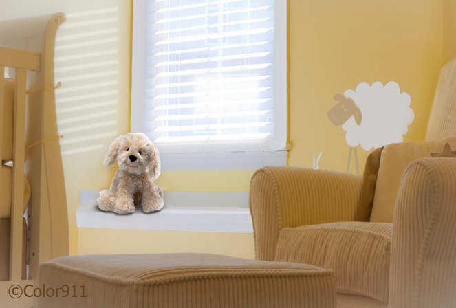"""""""Choose healthy colors for your child's nursery!"""" See why some #colors are better than others for your childs #bedroom! http://color911.com/healthy-choices-nursery-colors/"""