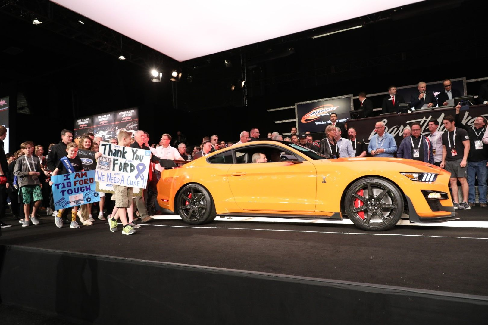 1st 2020 Mustang Shelby Gt500 Auctioned For 1 1 Million Ford Mustang Shelby Gt500 Mustang Shelby Shelby Gt500