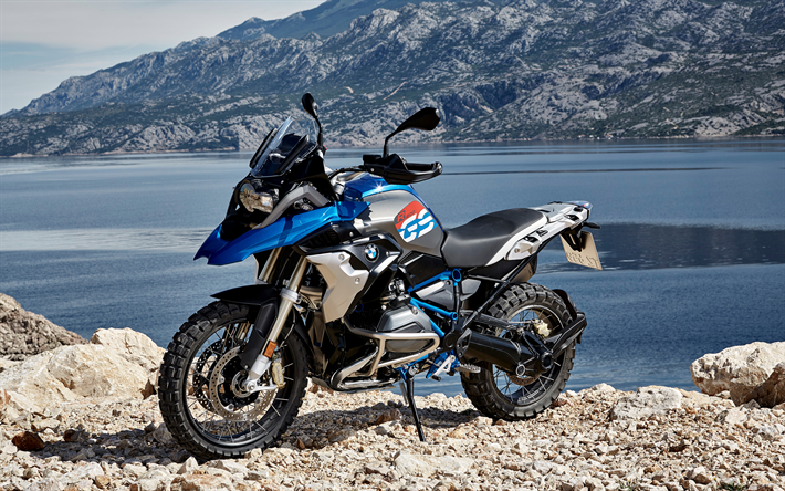 Download Wallpapers BMW R 1200 GS, 4k, 2018 Bikes