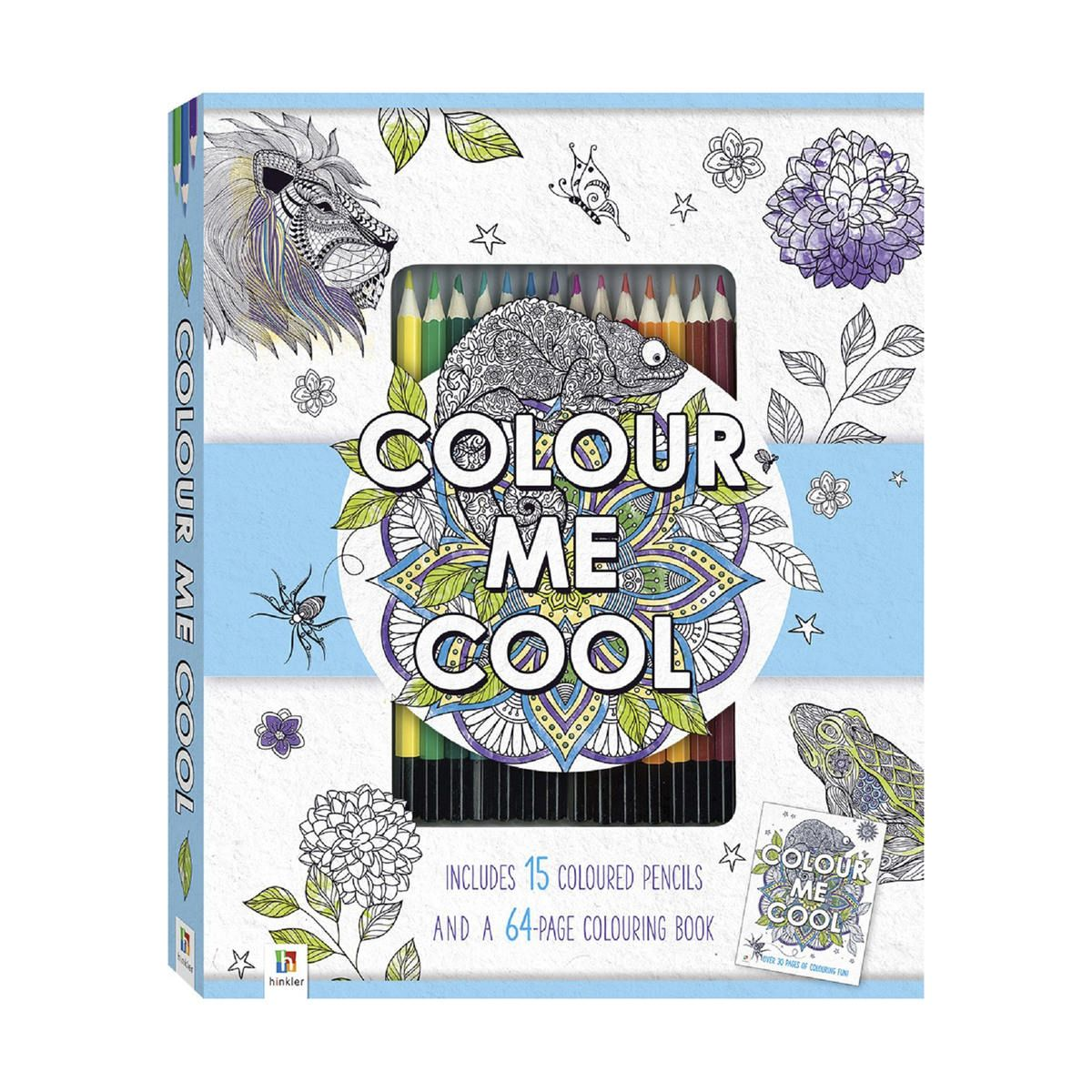 Colour Me Cool Colouring Kit