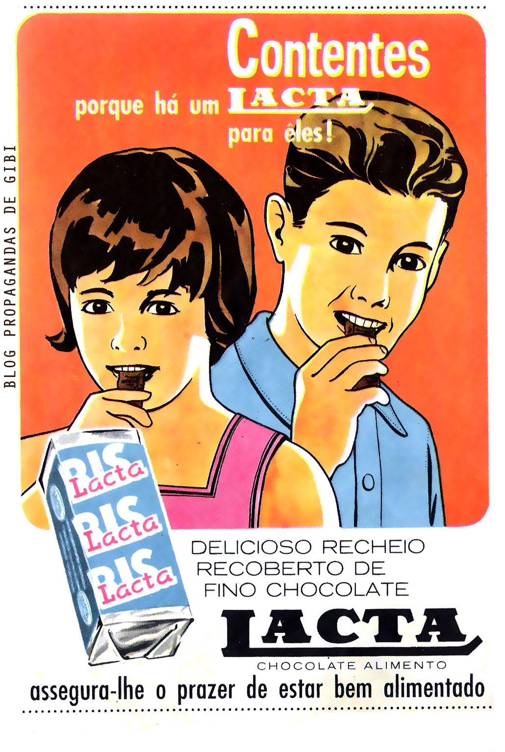 Década de 60 – propagandas de gibi | candy,chocolat,gum