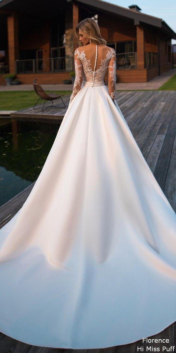 Brautkleider von Florence Wedding 2019 Despacito 1810 Beso #hochzeit #hochzeiten …