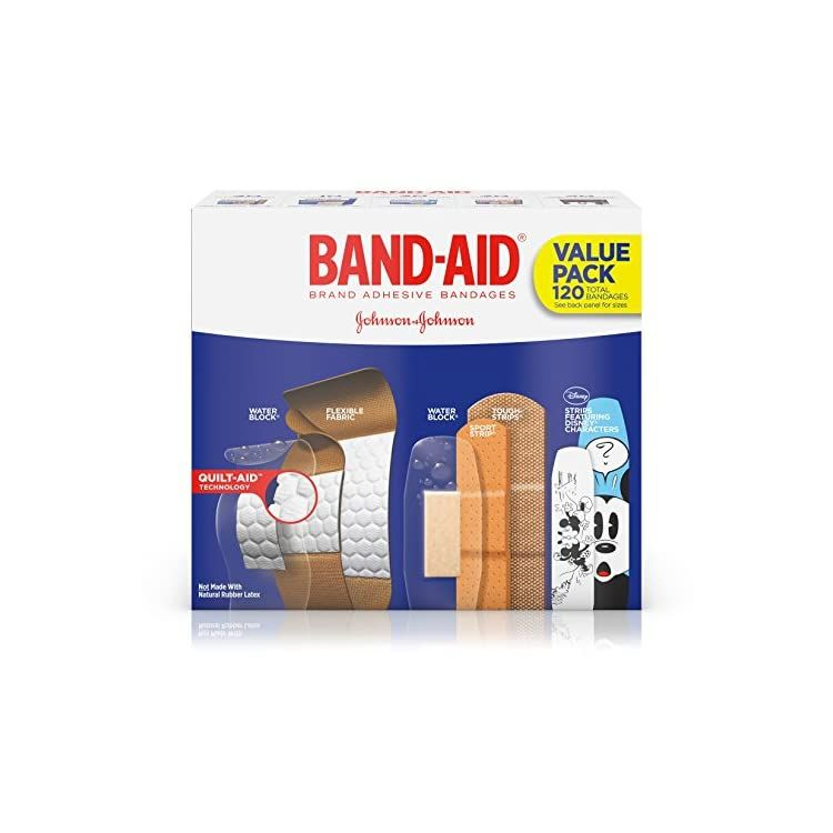 Band Aid Brand Adhesive Bandage Variety Pack For First Aid And Wound Care Assorted Sizes 120 Ct Shopiiq Band Aid Wound Care Adhesive