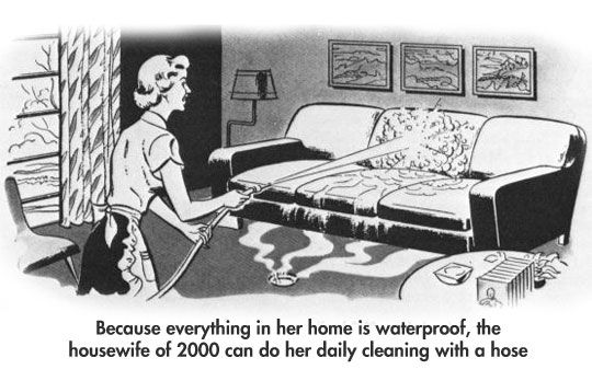 It's been 14 years, where's my waterproof house? | Clean
