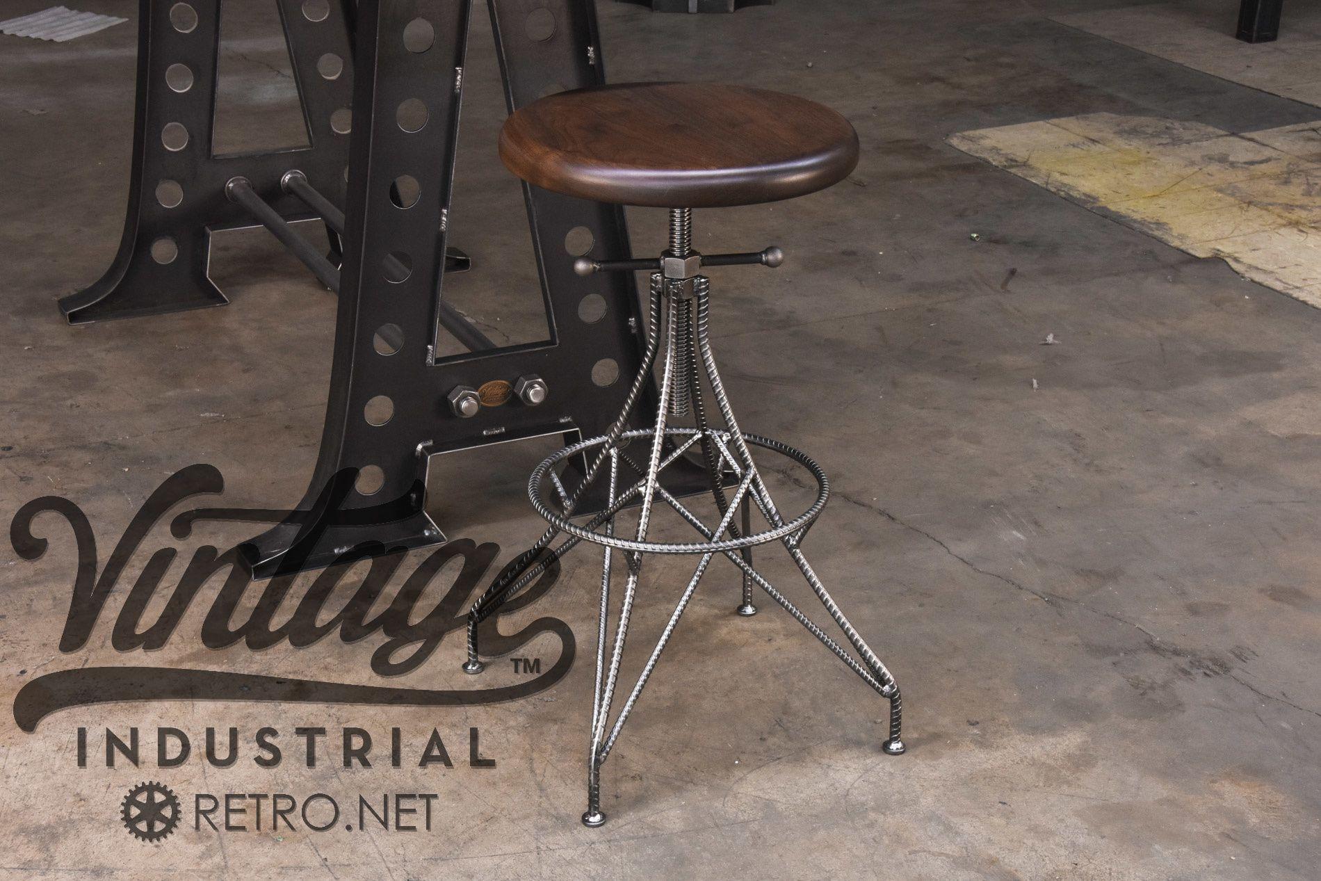 Pleasing Custom Made Rebar Stool Projects To Try Stool Metal Frankydiablos Diy Chair Ideas Frankydiabloscom