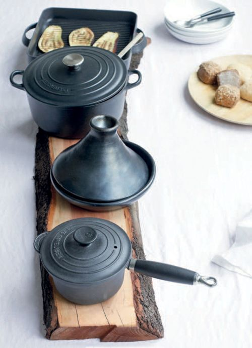 Le Creuset, cast iron cookware