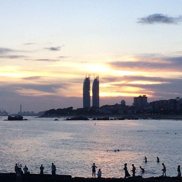 #xiamen #厦门 #周六 #saturday #twintowers #sunset
