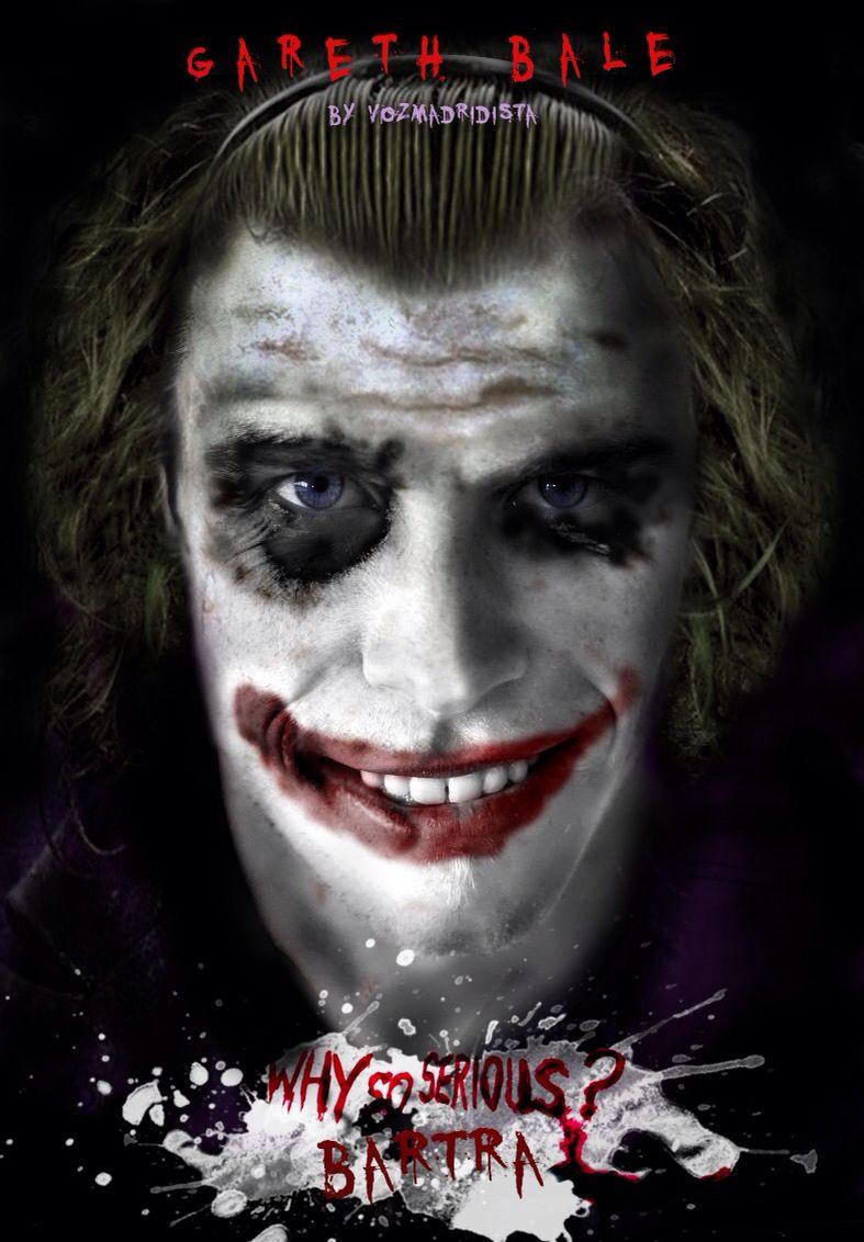 Gareth Bale Why So Serius Bartra? - Batman Begins Joker | POSTERS ...