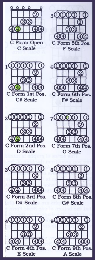 Learning Guitar: Pentatonic Scales and Lead Patterns Caged ...