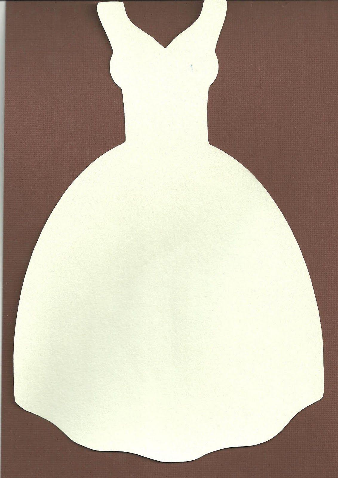 Красивые, трафарет платья для открытки