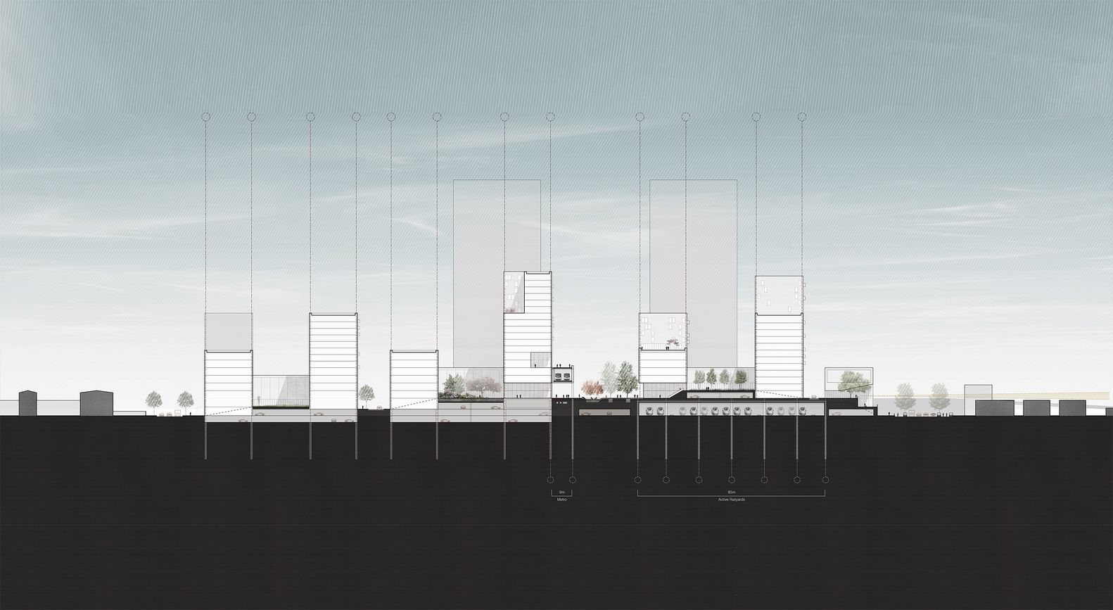 Gallery Of Harvard GSD Students Win International Urban Design Competition  For Shanghai Rail Station   20