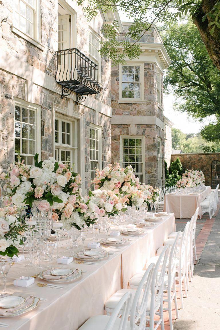1d8a61f6ca41 Beautiful outdoor wedding at Graydon Hall Manor   elegantweddingsreceptioncenterpieces