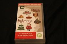Scandinavian Christmas Cards Cricut Cartridge Holiday With Box Overlay Scandinavian Christmas Christmas Cards Holiday Snowflakes