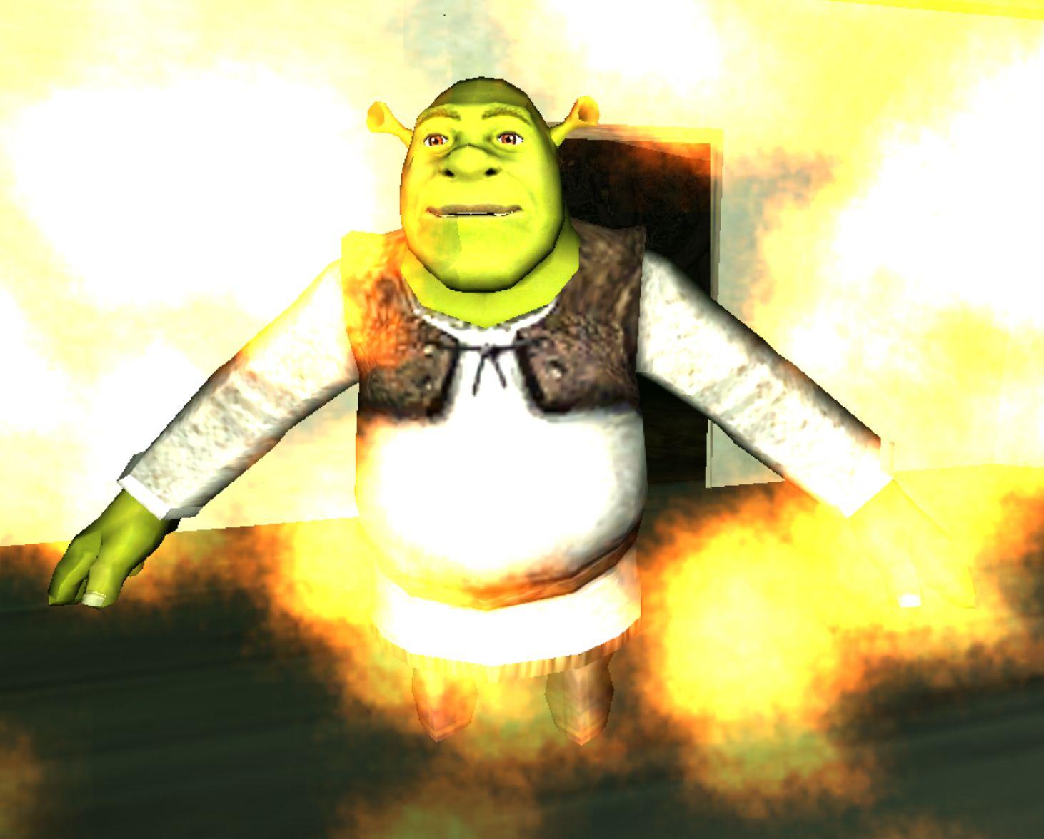 Swamp Simulator Shrek Poses Shrek Swamp